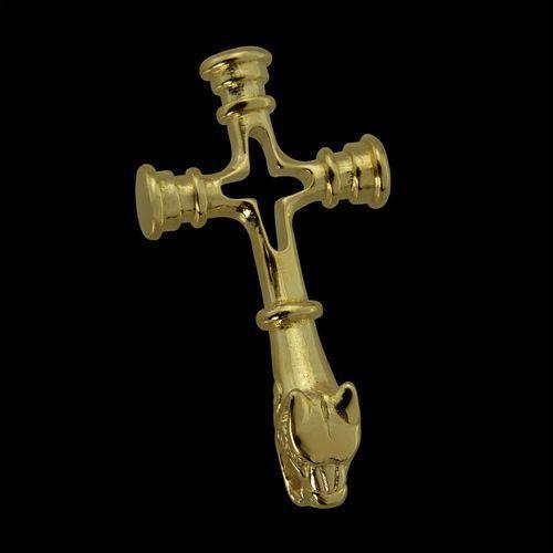 Islandzki wisiorek młot thora krzyż wilków złoto 14k sbr565 marki Płatnerze