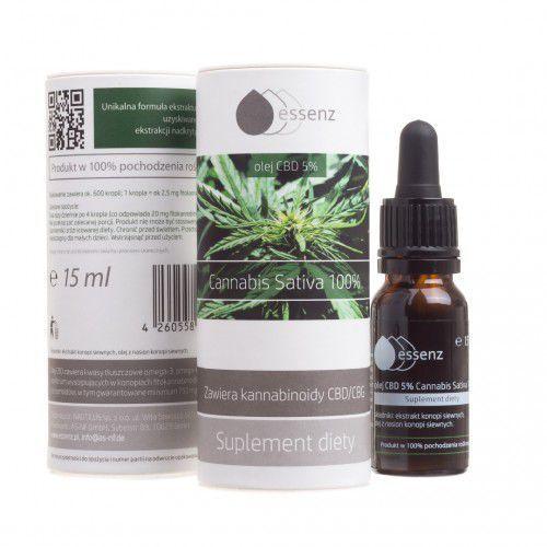 Olej CBD 5% 15 ml Cannabis sativa Essenz