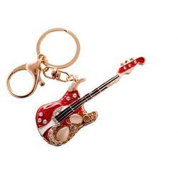 Carmani Breloczyk brelok gitara do kluczy torebki prezent