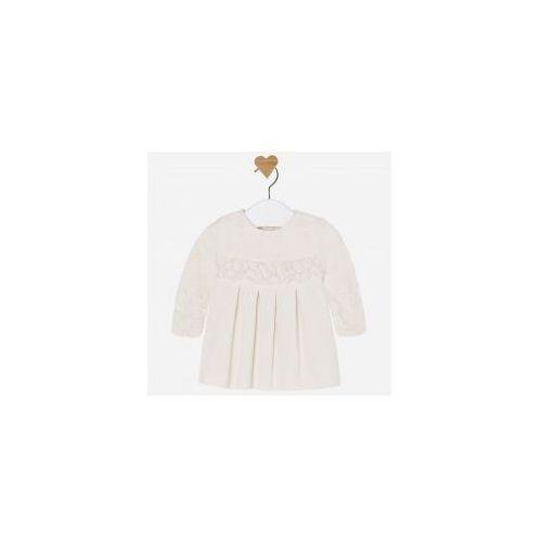 de5bc0ec3d MAYORAL 2821 Sukienka kremowa do chrztu