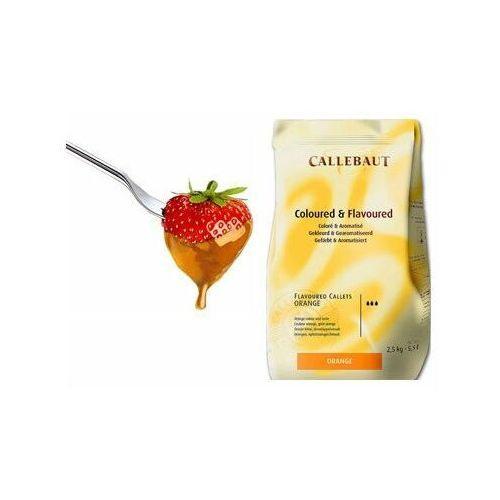 Czekolada pomarańczowa do fondue oraz fontann | 2,5 kg marki Callebaut