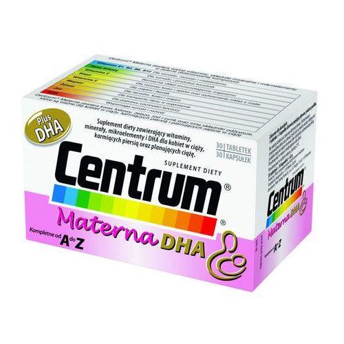 CENTRUM Materna Plus DHA x 30 tabletek + 30 kapsułek