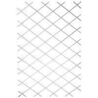 Nature Ogrodowa krata do pnączy, 100x200 cm, PVC, biała, 6040703 (8711338407035)