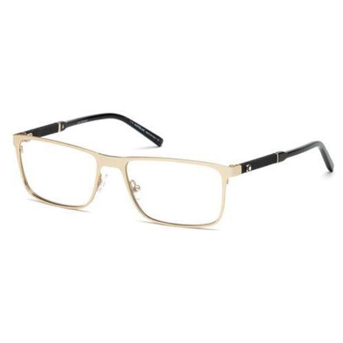 Okulary korekcyjne mb0674 028 Mont blanc
