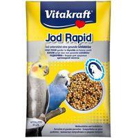 Vitakraft jod rapid perlen - pokarm z jodem dla papugi falistej 20g