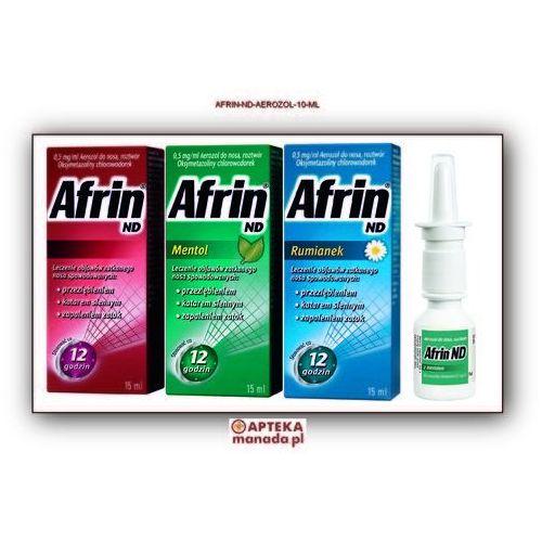 Afrin ND aerozol do nosa 0,5mg/ml 15 ml