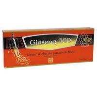 Ginseng 200 Żeńszeń & Mlecz. pszczele płyn - 10 fiol.a 10ml (6919773990057)