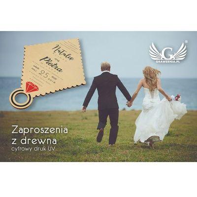 Zaproszenia ślubne GRAWERNIA.PL - Grawerowanie i Wycinanie Laserem GRAWERNIA.PL