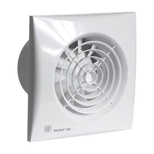 Wentylator łazienkowy cichy silent 100 cz - 12v niskonapięciowy. biały marki Venture industries /soler palau