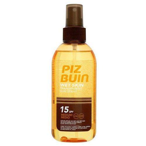 Piz Buin Wet Skin Transparent Sun Spray SPF15 150ml W Opalanie