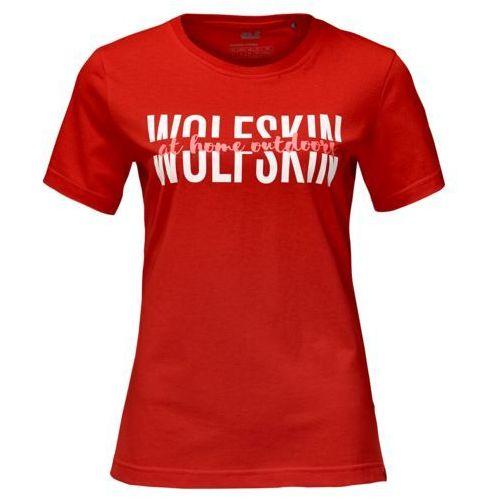 Koszulka slogan t women Jack wolfskin