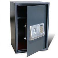 Vidaxl  elektroniczny sejf cyfrowy z półką 35 x 31 50 cm