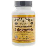 Kapsułki Healthy Origins Astaxanthin (Astaksantyna) 12 mg - 60 kapsułek