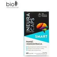 Kapsułki NeuraCaps SMART 60 kapsułek - suplement diety, wspomaga pamięć i koncentracje