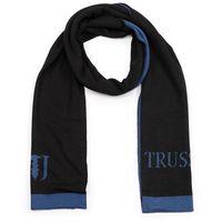 Szal TRUSSARDI JEANS - Knit Scarf Jacquard Logo Misto 57Z00146 K303