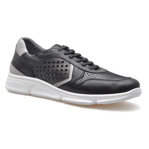Venezia Sneakersy 2097 czarne/stalowe