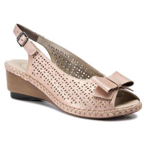 Sandały RIEKER - 66167-31 Rosa, w 5 rozmiarach