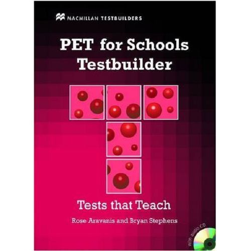 PET for Schools Testbuilder Student's Book with key & CD Pack (2011)