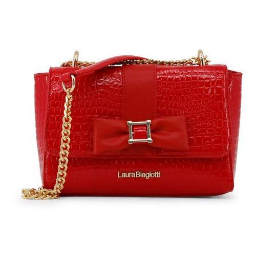 Torebka listonoszka damska LAURA BIAGIOTTI - LB18S108-5-64, kolor czerwony