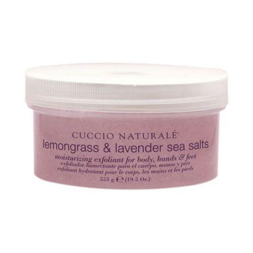 Lemongrass & lavender sea salt sól morska lawenda i trawa cytrynowa (553 ml) Cuccio
