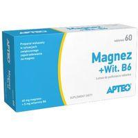 Tabletki MAGNEZ + Wit. B6 APTEO x 60 tabletek
