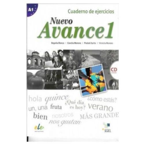 Nuevo Avance 1 ćwiczenia (9788497786690)