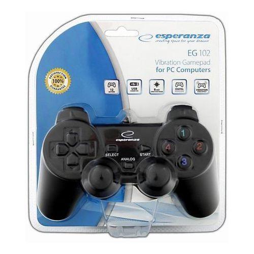 Esperanza Gamepad / kontroler vibration eg102 warrior