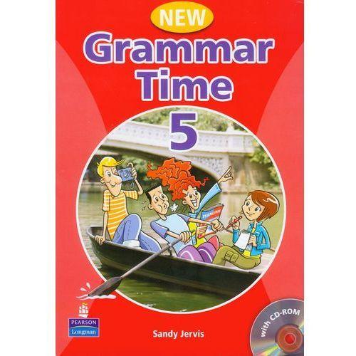 New Grammar Time 5 Student's Book (podręcznik) +Multi-ROM (9781405867016)