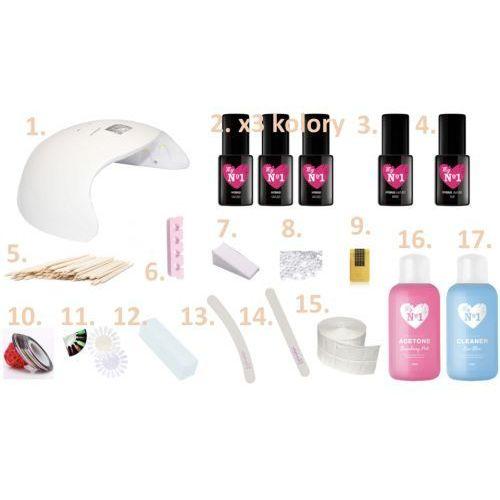 Zestaw xxl do hybryd z lampą 48w 17 elementów w tym 50 produktów - hybrydowy marki My no1