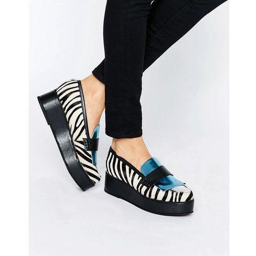 House Of Holland Zebra Print Flatform Shoes Multi Ceny Opinie Promocje Sklep Airtime