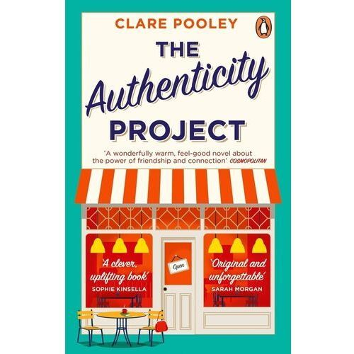 The Authenticity Project. The feel-good novel you need right now - Pooley Clare - książka, Clare Pooley