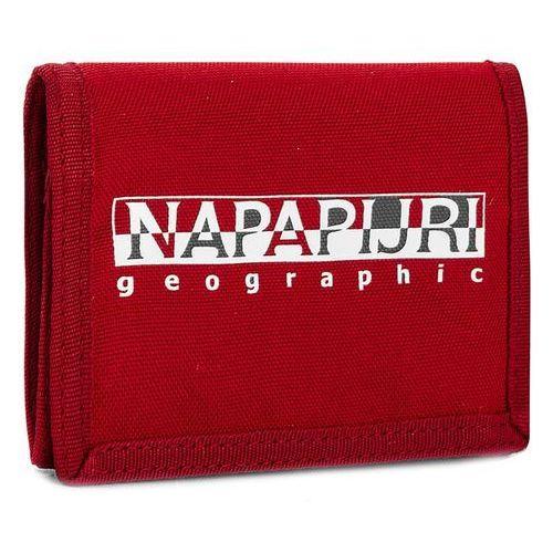 Duży Portfel Męski NAPAPIJRI - Happy Wallet N0YGXZR66 Sparkling Red R66