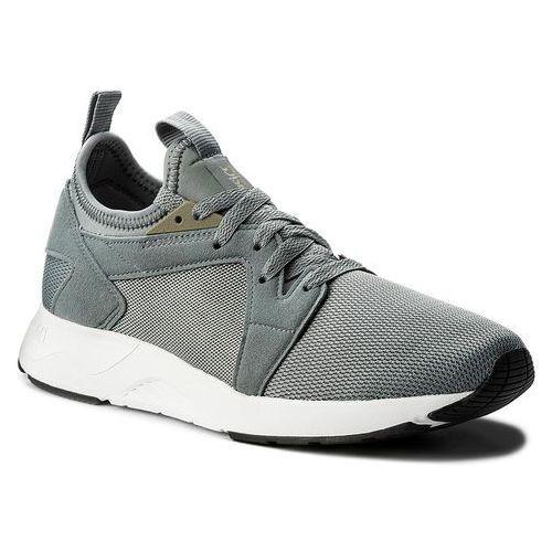 Asics Sneakersy - tiger gel-lyte v rb h801l stone grey/stone grey 1111
