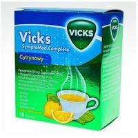 Vicks cytrynowy proszek 10 sasz. (5909990799749)