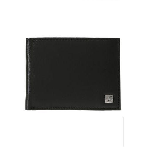 Trussardi Jeans Etui na wizytówki black (8057735041602)