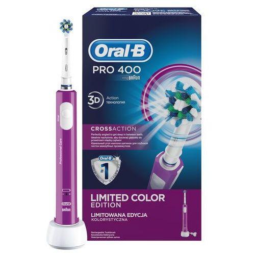 Szczoteczka do zębów oral-b pro 400 zielony marki Braun