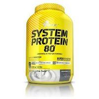 Olimp Sport System Protein 80 - Truskawka, 700 g - Truskawkowy