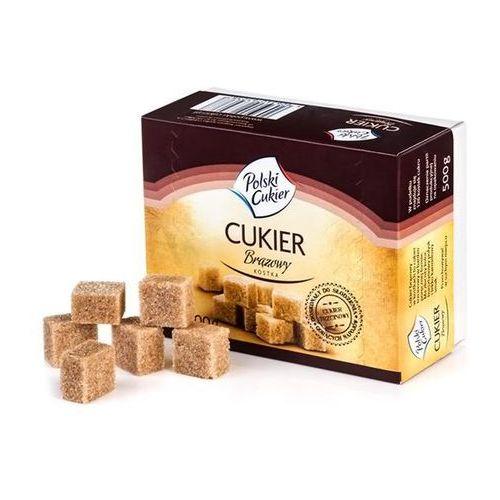 Cukier Brązowy Kostka Trzcinowy 500 g