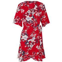 Boohoo Sukienka czerwony / biały