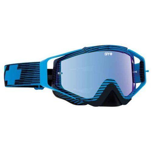 Spy Gogle narciarskie omen mx blue flash - smoke w/lt blue spectra + clear afp
