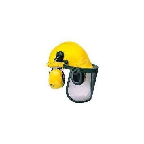 Zestaw kask ochronny i słuchawki Ryobi (uniwerslany żółty)