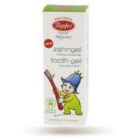 Żel do Mycia Zębów Mlecznych z Nagietkiem bez Fluoru BIO 50 ml Topfer (4006303384003)