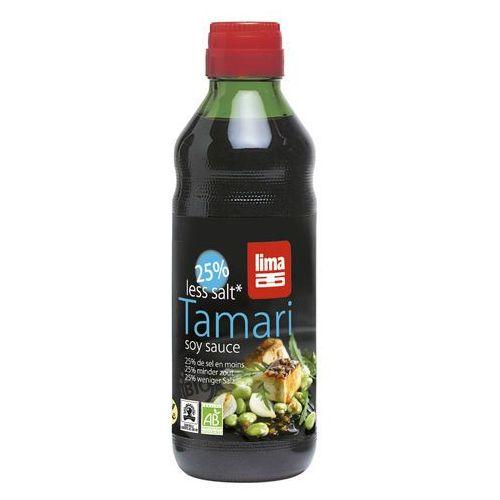Sos Tamari 25% mniej soli BIO 500ml - Lima