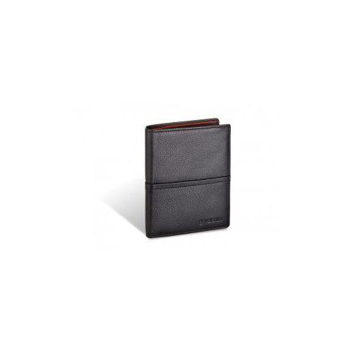 Portfel męski skóra naturalna model 154-266 kolekcja black & ferrari red Valentini