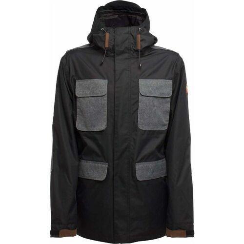 Sessions Kurtka - airborn jacket black (blk) rozmiar: l