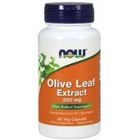 Kapsułki Now Foods Olive Leaf extract (Liść oliwny) 60 kaps.
