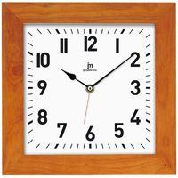 zegar ścienny 21035c kasztanowy marki Lowell