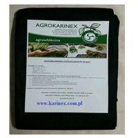 Agrokarinex Agrowółknina ściółkujaca pp 50 g/m2 czarna 1,6 x 20 mb. paczka o wadze 0,9 kg.