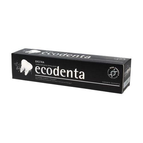 Ecodenta czarna wybielająca pasta do zębów, 100 ml - ecodenta (4770001336991)