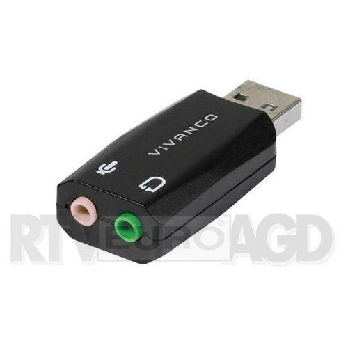 Karta dźwiękowa VIVANCO USB 36657 (4008928366570)